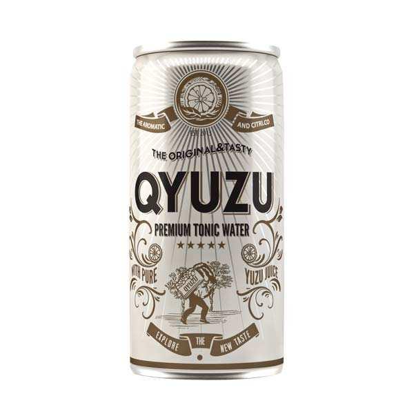 Qyuzu - Premium tonic water au yuzu