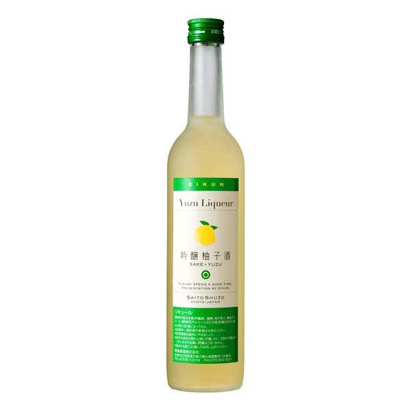 Yuzu Liqueur Made From Ginjo Sake