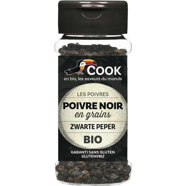 Poivre noir en grains bio