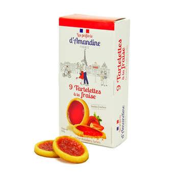 Les préférés d'Amandine - Tartelettes à la fraise