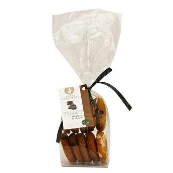 Pierre Lequepeys - Sablés aux pépites de chocolat