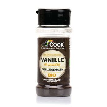 Cook - Herbier de France - Organic powdered vanilla
