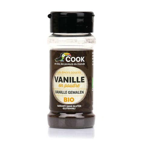 Cook - Herbier de France - Vanille en poudre bio équitable