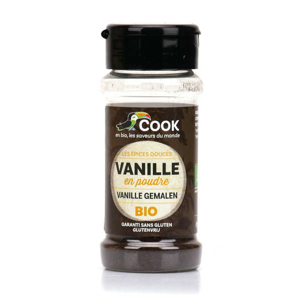 Organic powdered vanilla