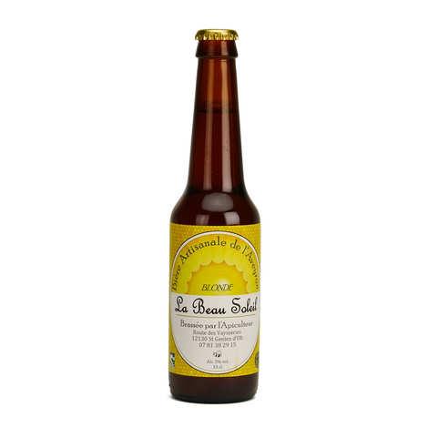 Brasserie Beau Soleil - Bière blonde bio de l'Aveyron de la Brasserie Beau Soleil 5%