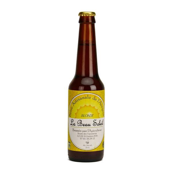Brasserie Beau Soleil - bière blonde bio 5%