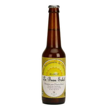 Bière blanche bio de l'Aveyron de la Brasserie Beau Soleil 5%