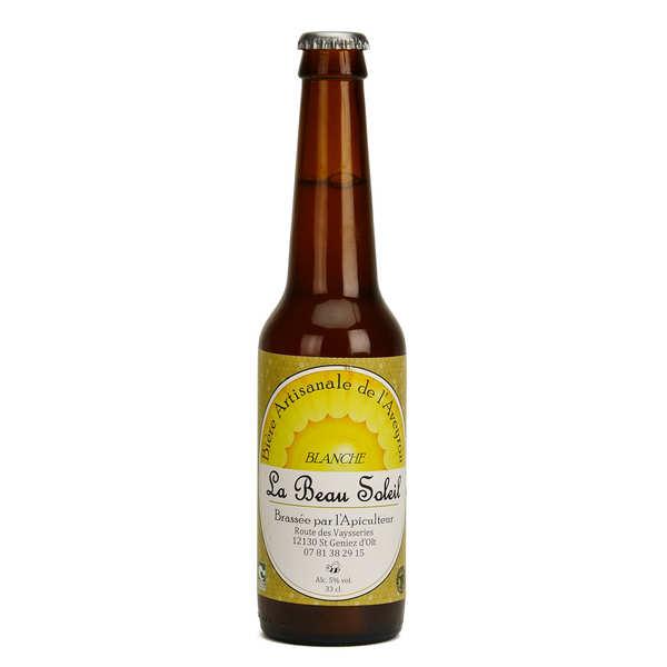 Brasserie Beau Soleil - bière blanche bio 5%