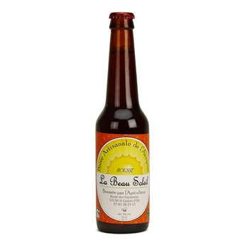 Brasserie Beau Soleil - Bière rousse bio de l'Aveyron de la Brasserie Beau Soleil 5%