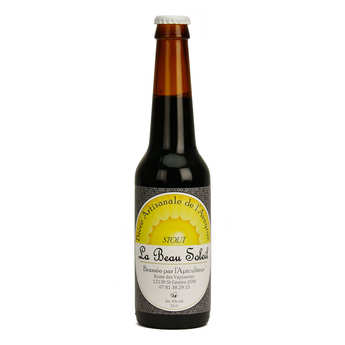 Brasserie Beau Soleil - Brasserie Beau Soleil - bière stout bio 5%
