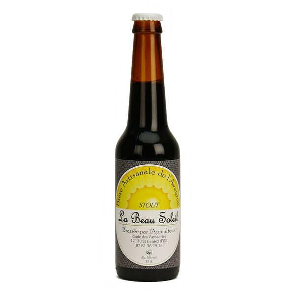 Brasserie Beau Soleil - bière stout bio 5%