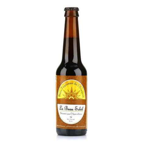 Brasserie Beau Soleil - Bière brune bio de l'Aveyron de la Brasserie Beau Soleil 5%