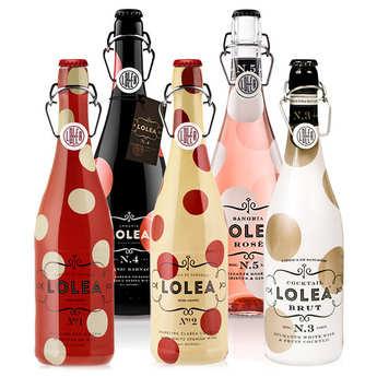 Lolea - Assortment of 5 sangrias Lolea