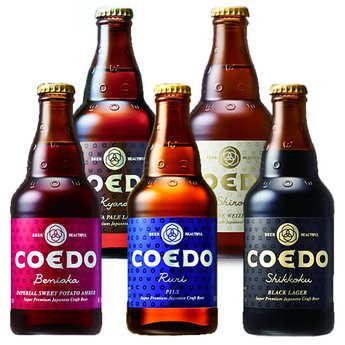 Brasserie Coedo - Assortment of Coedo Japanese Beers