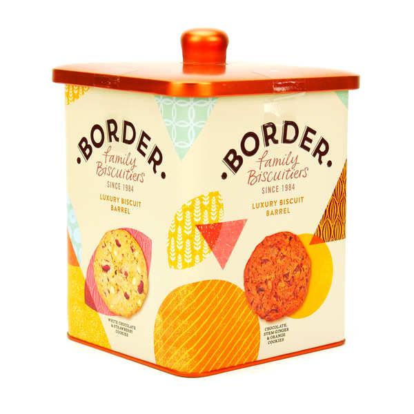 Assortiment de biscuits Border haut de gamme en boîte métal