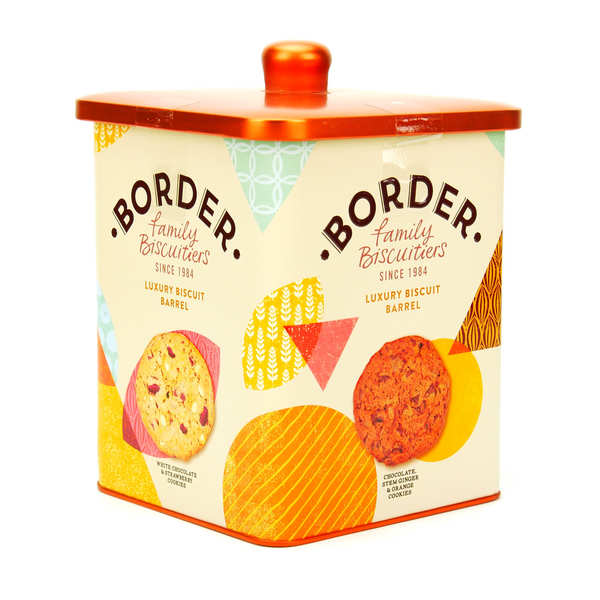 Border Biscuits Luxury Assortment In Metal Box
