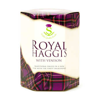 Stahly Quality Foods - Royal Haggis with Venison