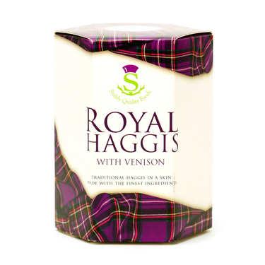 Royal Haggis - Panse de brebis farcie écossaise avec gibier