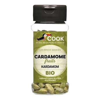 Cook - Herbier de France - Cardamome verte en gousses bio