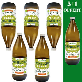 Germline - Organic Kombucha Juice - 5 + 1 free