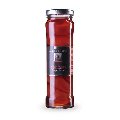 Fruit Gourmet - Abricot au sirop parfum coquelicot
