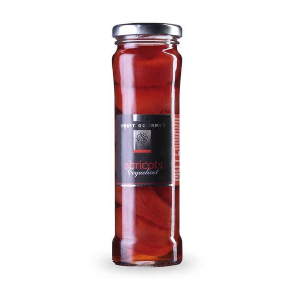 Abricot au sirop parfum coquelicot