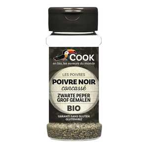 Cook - Herbier de France - Organic pound Black Pepper