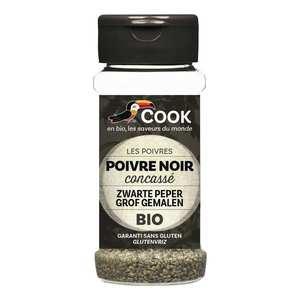 Cook - Herbier de France - Poivre noir concassé bio