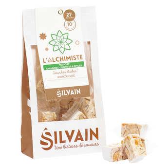Nougat Silvain - Nougat blanc de Noël aux épices