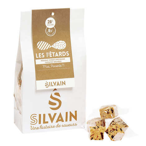 Nougat Silvain - White Nougat with Tomato, Sweet Pepper and Chili for Aperitive