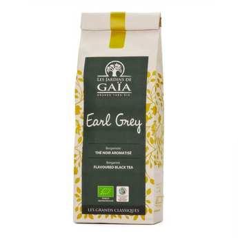 Les Jardins de Gaïa - Thé noir earl grey bergamote bio