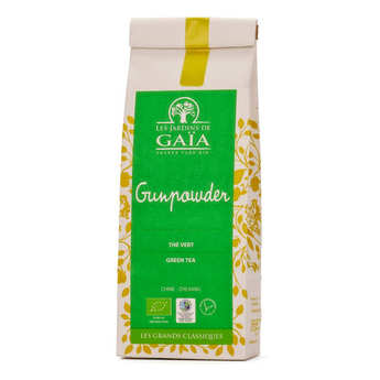 Les Jardins de Gaïa - Organic Gunpowder Green Tea from China