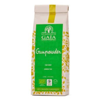 Les Jardins de Gaïa - Thé vert de Chine gunpowder bio