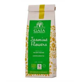 Les Jardins de Gaïa - Organic Green Tea Jasmine Flowers – Moli hua cha
