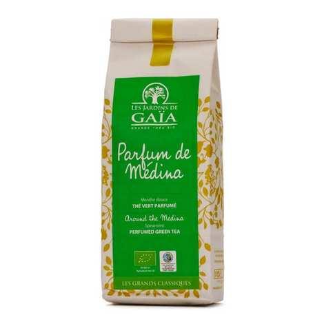 Les Jardins de Gaïa - Thé vert menthe nana bio - Parfum de médina