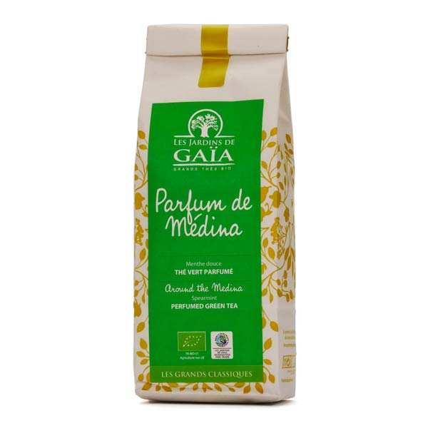 Thé vert menthe nana bio - Parfum de médina