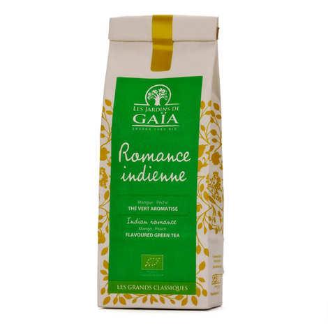 Les Jardins de Gaïa - Organic Green Tea with Peach and Mango