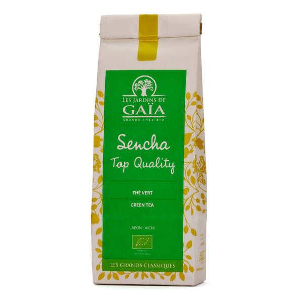Thé vert sencha top quality bio