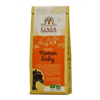 Les Jardins de Gaïa - Tisane d'allaitement bio - Maman baby