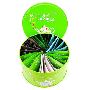 English Tea Shop - Coffret collection de thés verts et blancs bio (30 sachets)