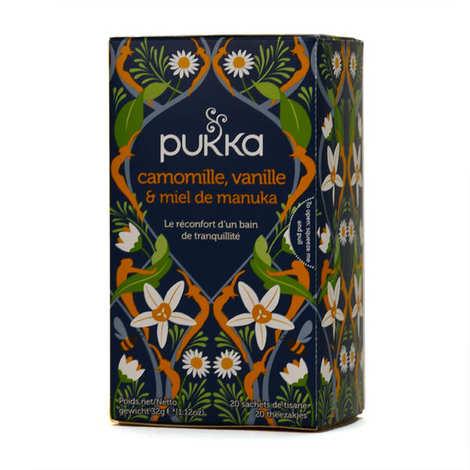 Pukka herbs - Infusion bio camomille, vanille et miel de manuka - Pukka
