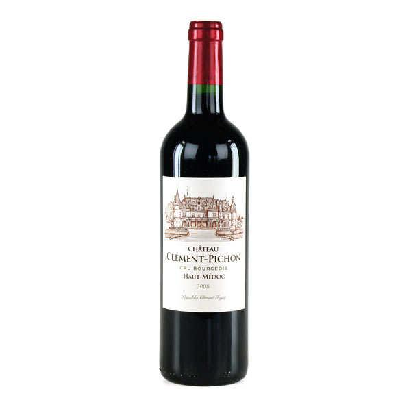 Château clément pichon - bordeaux rouge haut médoc - 2011 - bouteille 75cl