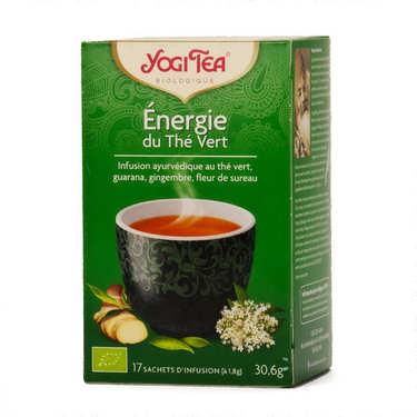 Energie du thé vert bio - Yogi Tea