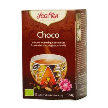 Organic 'Choco' Herbal Tea - Yogi Tea