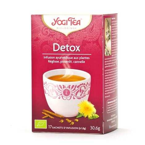 Yogi Tea - Organic Detox Herbal Tea - Yogi Tea