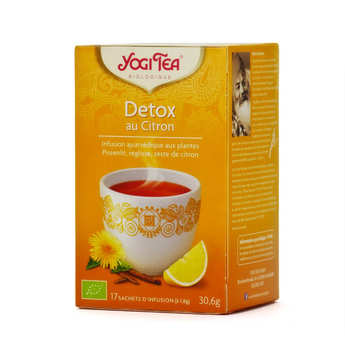 Yogi Tea - Organic Detox Herbal Tea with Lemon - Yogi Tea