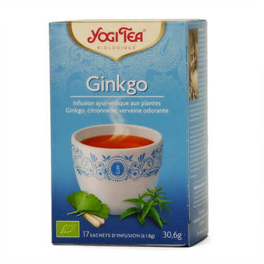 Organic Ginkgo herbal Tea - Yogi Tea