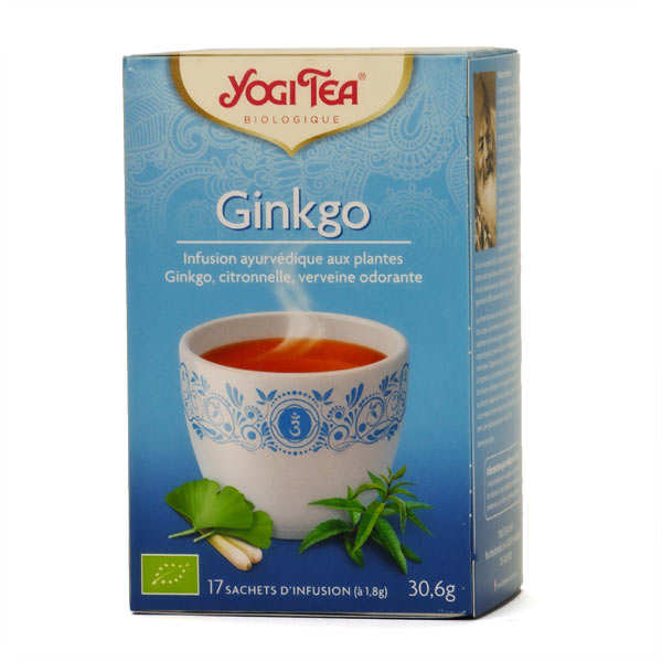 Infusion ginkgo bio - Yogi Tea