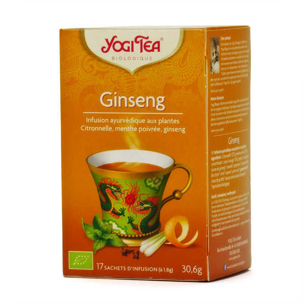 Organic Ginseng herbal Tea - Yogi Tea
