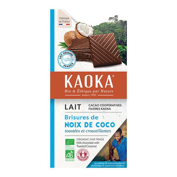 Organic Milk Chocolate Bar 32% with Coconut